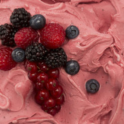 Ricetta gelatto ai frutti di bosco