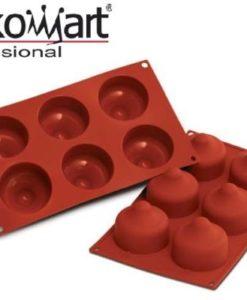 Stampo in silicone a forma di bacio