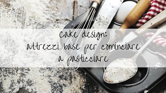 quali accessori servono per il cake design