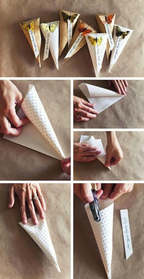 Popolare Idee per creare bomboniere fai da con i confetti FS87