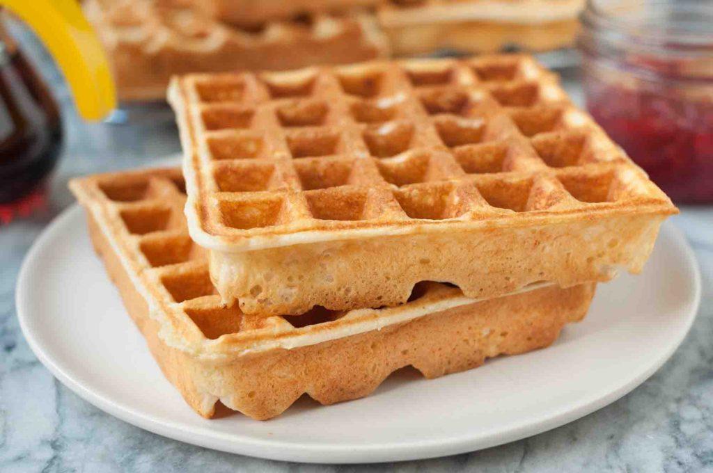 come si fanno i waffle