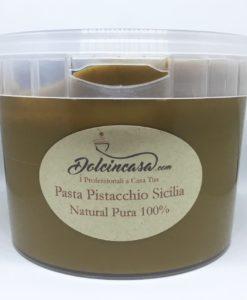 pasta di pistacchio puro