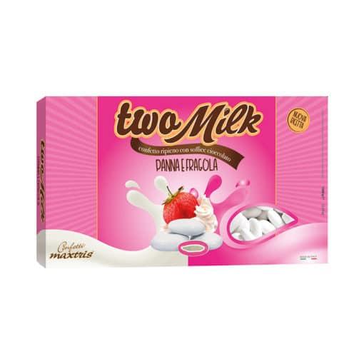 two milk panna e fragola