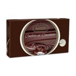 confetti al cioccolato fondente rosa