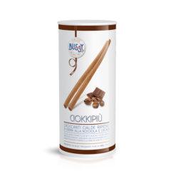cialde per gelato in Tubo ripiene di nocciola e cacao